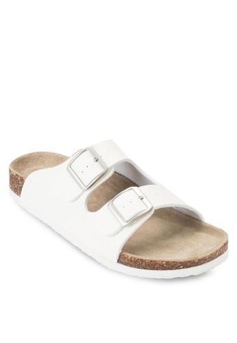 雙esprit outlet 家樂福扣環拖鞋, 女鞋, 涼鞋