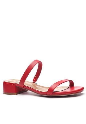 Twenty Eight Shoes 羊紋橫帶涼鞋3376-2 B6A7DSH031C046GS_1