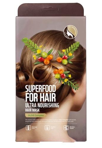 FARMSKIN Farmskin Hair Mask Set Ultra Nourishing Superfood For Hair (Olive) 824A6BEBBE285FGS_1