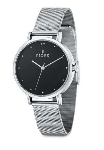 DOTTA 金屬網眼圓框手錶, 錶類, 飾品配esprit hong kong件