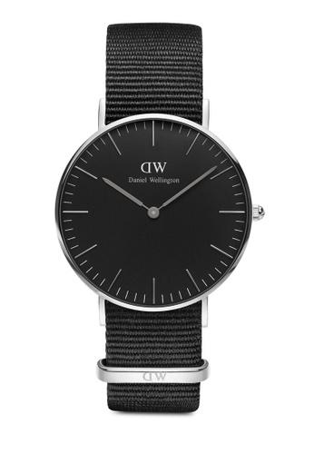 Daniel Wellington silver Classic Cornwall Black 36mm Silver Watch 7B4E8AC60AA2B6GS_1