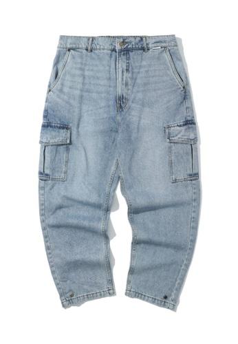 Fivecm blue Cargo jeans EF559AA67B5813GS_1
