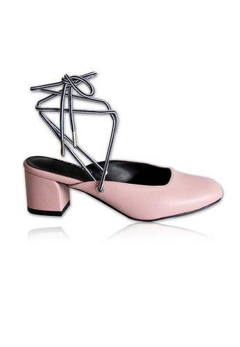 Yoke & Theam pink Emma Two Way Mules 65096SH89C1472GS_1