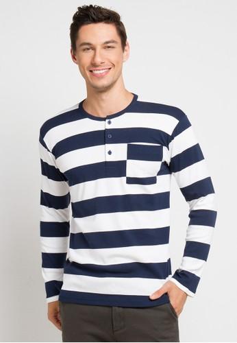 AUTIV.FIXIN white Pubu Henley Shirt ABA46AAA63064FGS_1