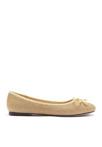 Twenty Eight Shoes gold Glitter Flat shoes 889-6 AC389SHB87BB3FGS_1