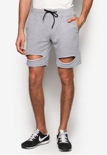 Garona 刷破運動短褲, esprit 衣服服飾, 短褲