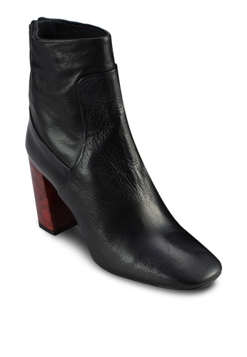 MASTER  撞色高跟靴, 女鞋topshop寄到台灣, 靴子