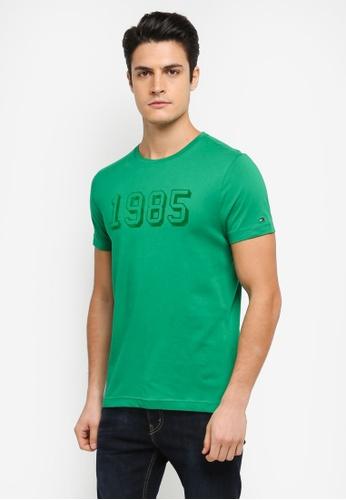 Tommy Hilfiger green STAN C-NK TEE S/S RF 9E79BAA83110A2GS_1