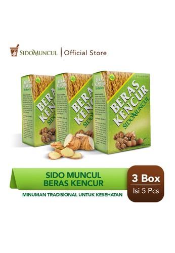 Sido Muncul green Sido Muncul Beras Kencur 3x5's - Minuman Tradisional Kesehatan DC4FEESC2F892EGS_1