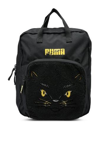 Puma black Animals Backpack D4498KC931D209GS_1