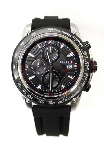 Buler black Buler Sport Watch - Black - Gents - Date - 6H 2D5E3ACF7E13E5GS_1
