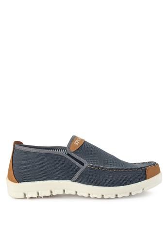 Declan grey Axel  Slip On Sneakers ADA4ASHF2B4DFBGS_1
