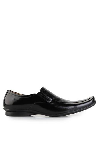 Dr. Kevin black Business & Dress Shoes Shoes 83175 Hitam Leather DR982SH15UEIID_1