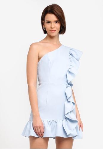 JARLO LONDON blue Xanadu Dress 8F1F5AACEF8835GS_1