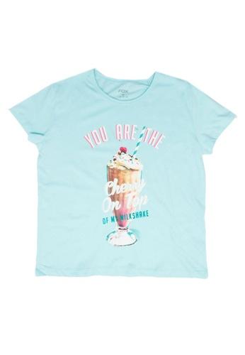 FOX Kids & Baby blue Short Sleeve Tee B42BCKAA5CE3AAGS_1