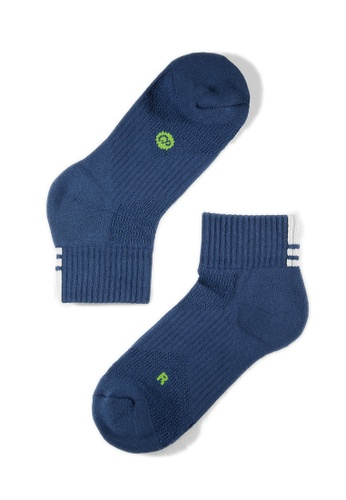 Life8 blue Sport Luminous Deodorant Socks-05260- Blue LI283AA0FUADSG_1