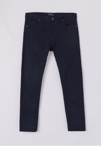 Terranova navy 5-pocket Skinny Trousers C4151AA872F232GS_1