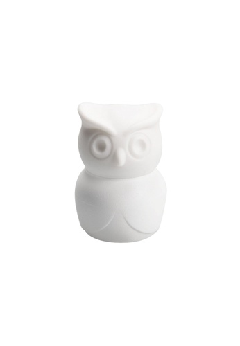 Qualy Qualy Thirsty Owl Bottle Opener (White) 14C1AHL596FE6BGS_1