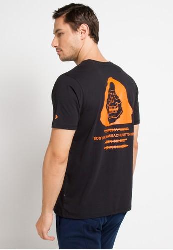 Converse black Reeper T-Shirt 4ABB0AAA8FFA8CGS_1