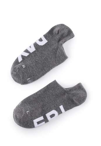Life8 grey Casual DeodorizationRight Angle Design Low Cut Week Socks -05368-Grey 2F997AA569C857GS_1