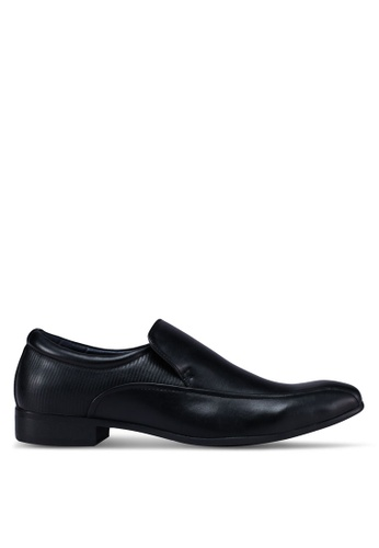 Bata black Business Dress Shoes F9370SH0761325GS_1