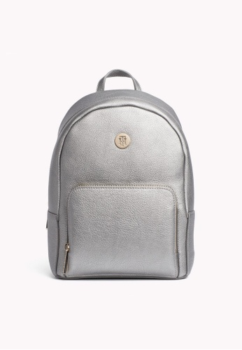 Tommy Hilfiger silver TH CORE MINI BACKPACK AB792ACB3C921DGS_1