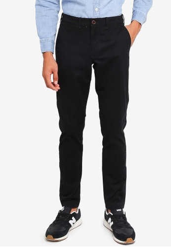 Abercrombie & Fitch black Super Slim Chino Pants 41002AAC71D026GS_1
