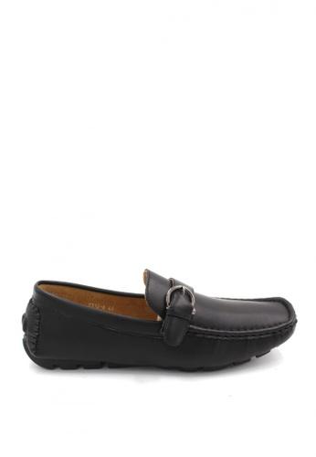 London Fashion black Raffy 0512-6 Formal Shoes E549CSH5B8F410GS_1