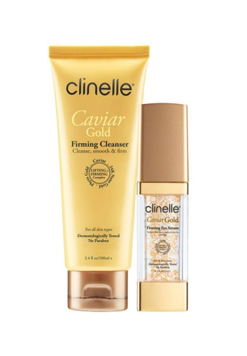 Clinelle Skin Care: Clinelle [Official] CaviarGold Firming Cleanser (100ml) + Firming Eye Serum (15ml) CL708BE33EXYMY_1