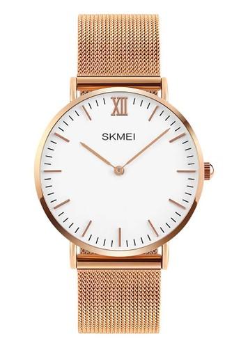 Digitec brown Skmei - Jam Tangan Pria - Rosegold - Stainless Steel - 1182-B DI108AC27HUQID_1