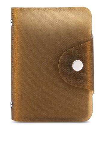 素色果凍卡片收納夾,esprit台灣outlet 包, 皮夾及零錢包