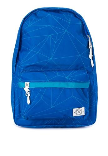 Parkland blue Vintage Backpack PA067AC0IUEBPH_1