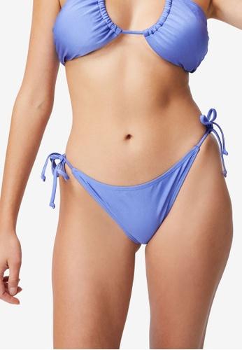 Cotton On Body purple Tie Side Hipster Cheeky Bikini Bottom 75302USF553940GS_1