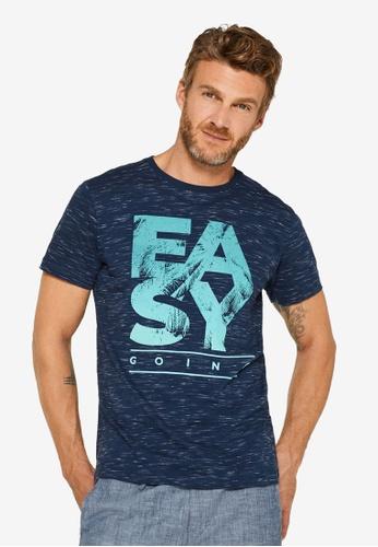 9c39d6f3 Buy ESPRIT Statement Print Jersey T-Shirt Online on ZALORA Singapore