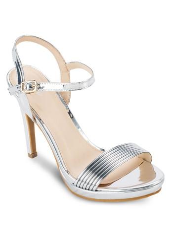 一字帶厚底高esprit outlet 高雄跟涼鞋, 女鞋, 鞋