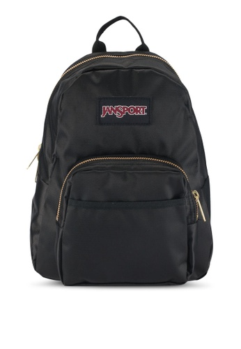 Jansport black and gold Half Pint FX Backpack AC76EAC0365D81GS_1