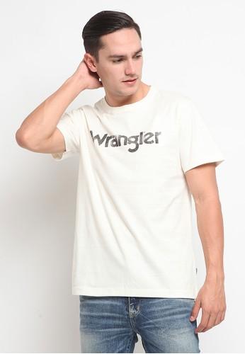 Wrangler white Short Sleeve Edmun07A21 BA92AAAF992495GS_1
