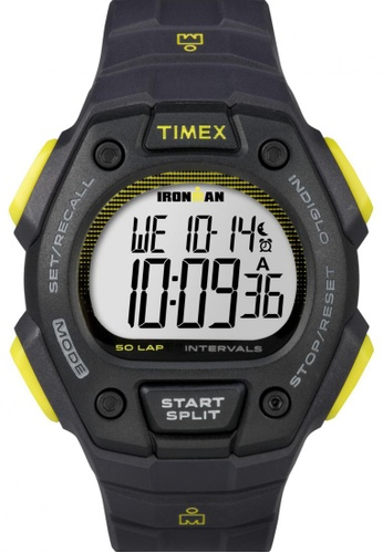 TIMEX grey Timex IRONMAN® Classic 50 Full-Size - Gray Resin Strap Watch TI857AC15CMUSG_1