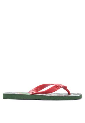 Dupe green Selecoes Mexico Sandals & Flip Flops 5E775SHDB9241DGS_1
