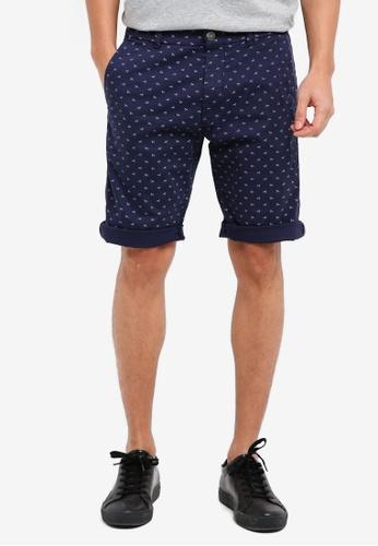 ESPRIT navy Woven Regular Shorts 67AD9AAAE60E1BGS_1