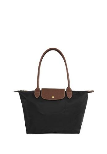 Longchamp black LE PLIAGE CLUB Le Pliage Small Tote Bag EADC5ACF417390GS_1