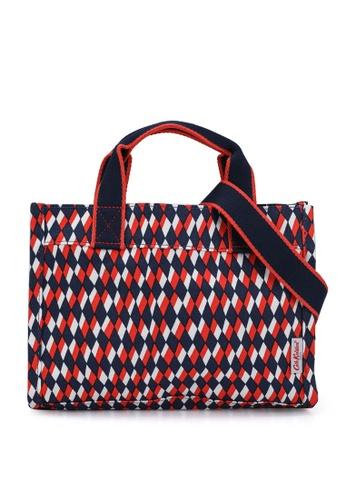 Cath Kidston navy Harlequin The Little Sidekick Crossbody Bag 4FAF7AC2D86BD3GS_1