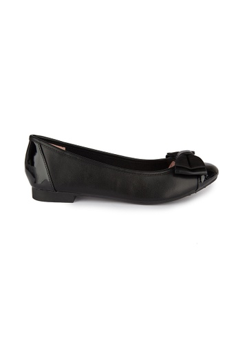 MAUD FRIZON black Ballerinas With Double Layers Bow B4002SH823490FGS_1