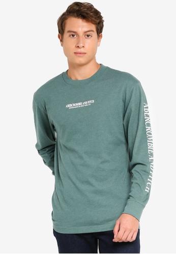 Abercrombie & Fitch green Summer Core T-Shirt 421FEAA1B40A93GS_1