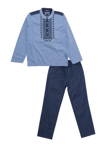 Cardinal Kids blue Set Baju Koko D8295KA1030678GS_1