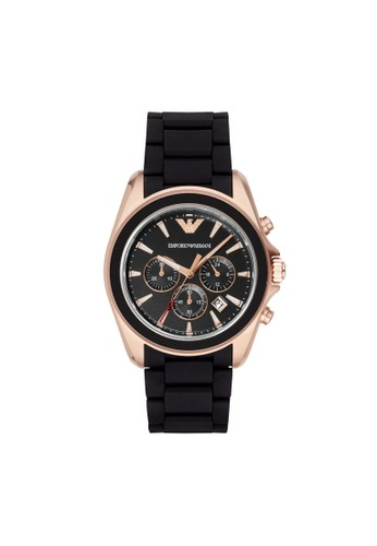 Emporio Armani SIGMA運動系列腕錶 AR6066, 錶esprit sg類, 運動型