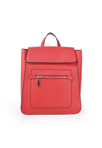 Charles Berkeley red Charles Berkeley Duncan Backpack (PB-9698) CC686AC68373ADGS_1