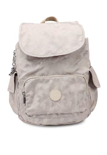 Kipling beige City Pack S Backpack 582F7AC6815745GS_1