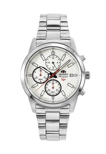Orient silver Orient Men Chronograph ORFKU00003W C2BB4ACC53BF46GS_1