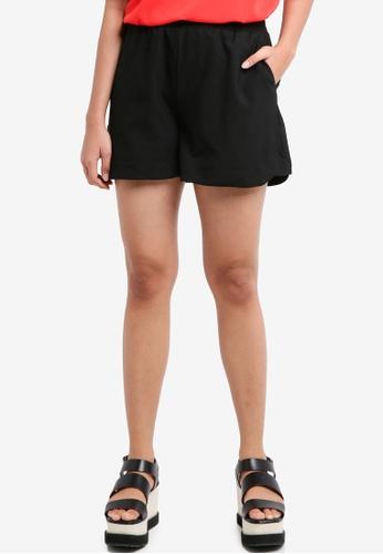 Pieces black Donni Shorts D964CAA87844B8GS_1